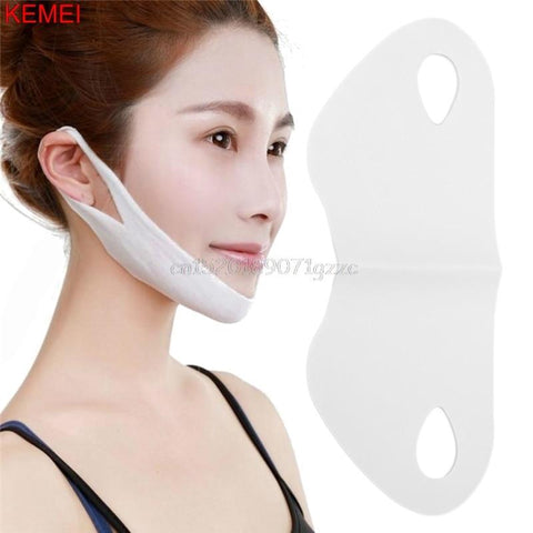 Women Wrinkle V Face Chin Cheek Lift Up Slimming Mask With Anti-wrinkle Cream #H027#