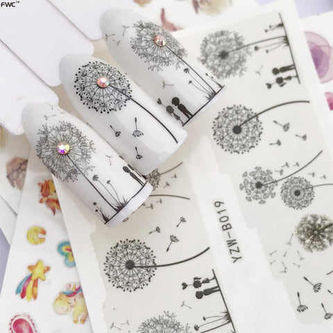 Nail Art Stickers & Decals