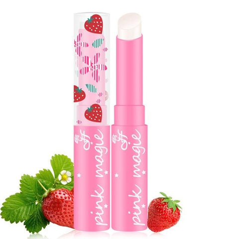 maquiagem Cute Sweet Strawberry Lip Balm Magic Temperature Changing Color Moisturizer Lips Balm Makeup  Moisturizer Lipbalm