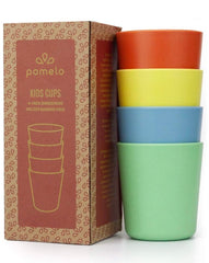 4 Bamboo Cups