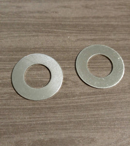 Stamping Blanks Metal Stamping Washer Blanks Silver Washer Blanks Blank Pendants Hand Stamping Silver Metal Blanks Aluminum Blanks Washer 4