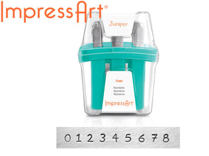 Number Stamps Metal Stamping Kit Impressart Stamping Kit Number Metal Stamps Set Metal Punch 3mm PREORDER