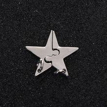 Load image into Gallery viewer, Star Pendant Star Puzzle Charm Puzzle Star Charm Friendship Charms Mother Daughter Charms Puzzle Pendants