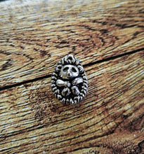 Load image into Gallery viewer, Hedgehog Charm Hedgehog Pendant Silver Hedgehog Charm Hedge Hog Charm Woodland Charm Animal Charm Pet Charm B