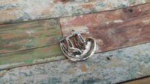 Load image into Gallery viewer, Sloth Charm Antiqued Silver Sloth Pendant Animal Pendant Rainforest Charm 26mm