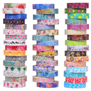 Bulk Washi Tape Assorted Lot Wholesale Washi Tape Paper Crafts DIY 8mm Washi Tabe Decorative Tape Gift Wrapping Scrapbooking