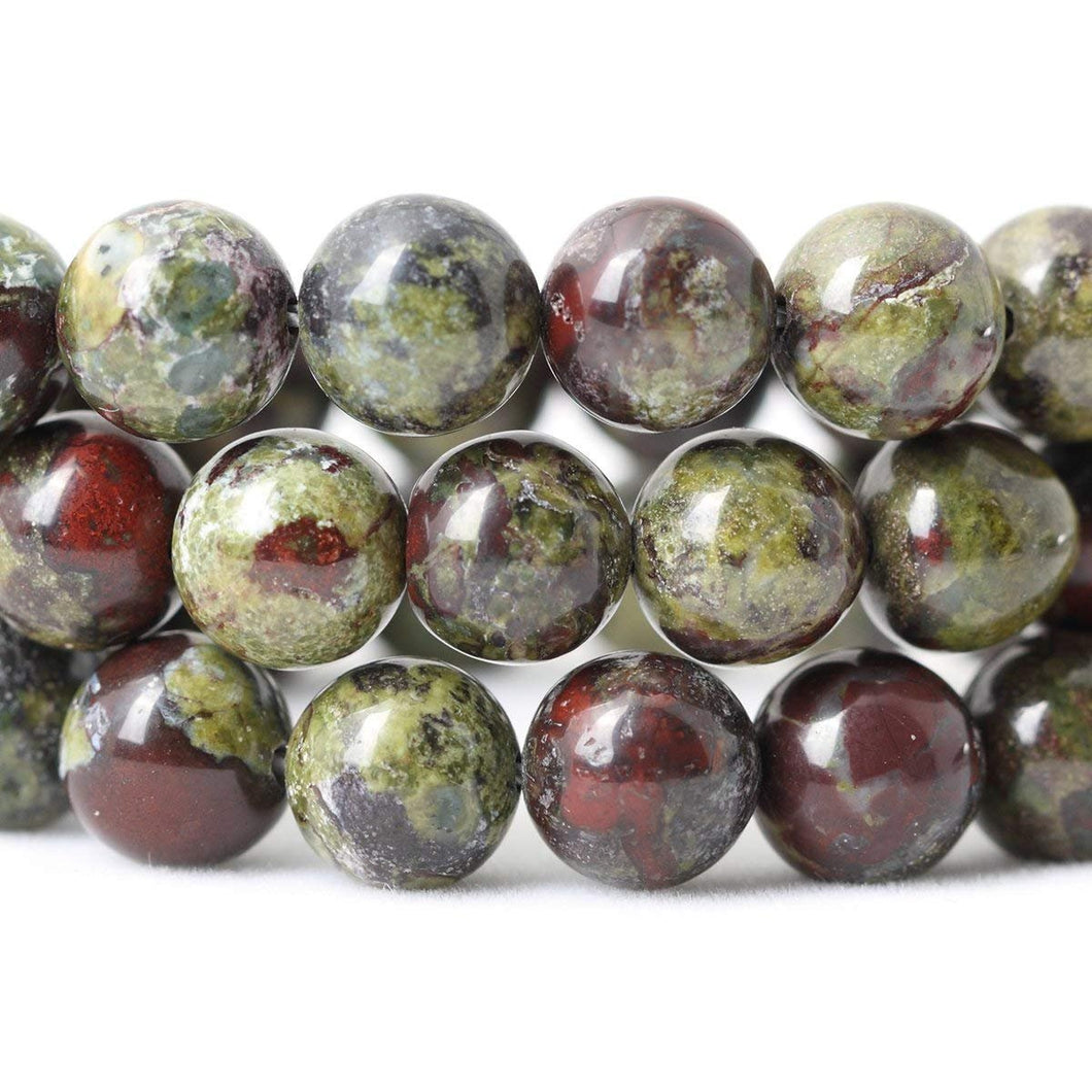 Dragon Blood Jasper Beads Dragon Blood Gemstone Beads Jasper Beads 8mm Gemstones 8mm Jasper Beads 8mm Gemstone Beads FULL STRAND