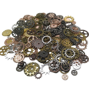 Clock Gears Clock Parts Clock Mechanism Brass Gears Metal Gears Steampunk Gears BULK Assorted Gears 170pcs