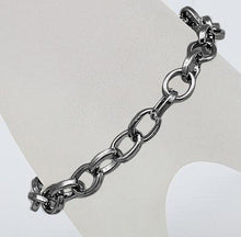 Load image into Gallery viewer, Charm Bracelets Black Gunmetal Bracelets Link Chain Bracelets 10 pieces Wholesale Bracelets Bracelet Chains Bracelet Blanks