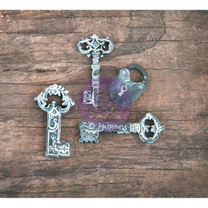 Resin Key Charms Key Pendants Resin Charms Distressed Keys Patina Keys Key and Lock Sets Skeleton Keys Black White Keys 15pcs