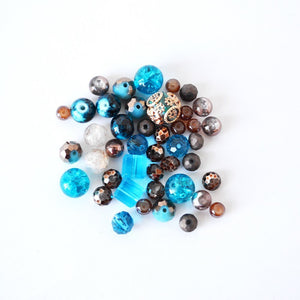 Jesse James Beads Mix Glass Beads Set Assorted Beads Jesse James 5912 Design Elements 21 Grams