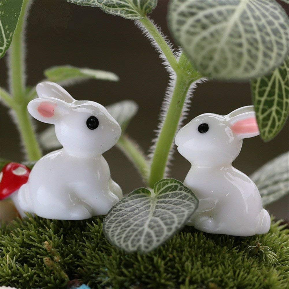 Bunny Cabochons Resin Animal Cabochons Resin Cabochons Realistic Animal Slime Charms Flat Backs BULK 35 pieces