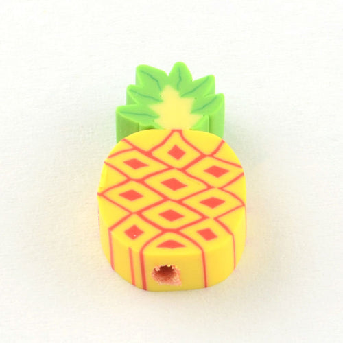 Pineapple Beads Fruit Beads Bulk Beads Wholesale Beads Polymer Clay Beads 16mm Beads 50 pieces