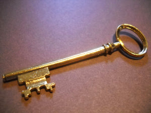 Bulk Skeleton Keys Antiqued Gold Wholesale Keys Key Pendants Wedding Keys 80mm Steampunk-50pcs