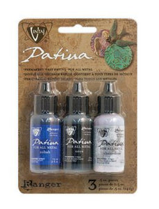 Patina Paint Metal Paint Vintaj Patina Paint 3 Pack NEW COLORS Twilight in Paris PREORDER