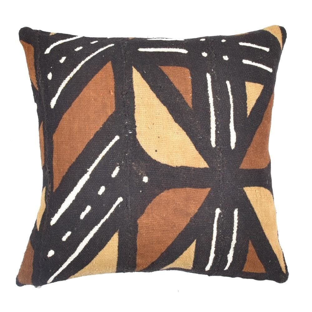 African tribal mudcloth Pillow - BENISOUK