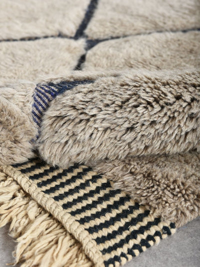 "Birds eye view - Luxury Mrirt Rug ""Exclusive"" - BENISOUK"