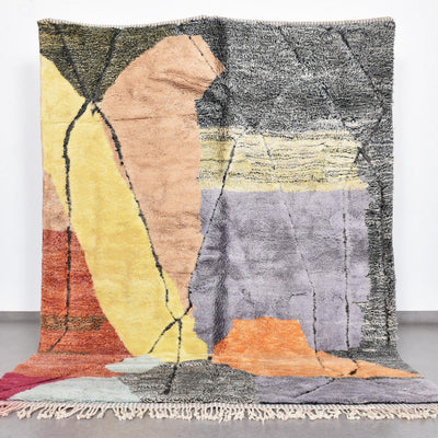 "Desert Sun - Luxury Mrirt Rug ""Exclusive"" - BENISOUK"
