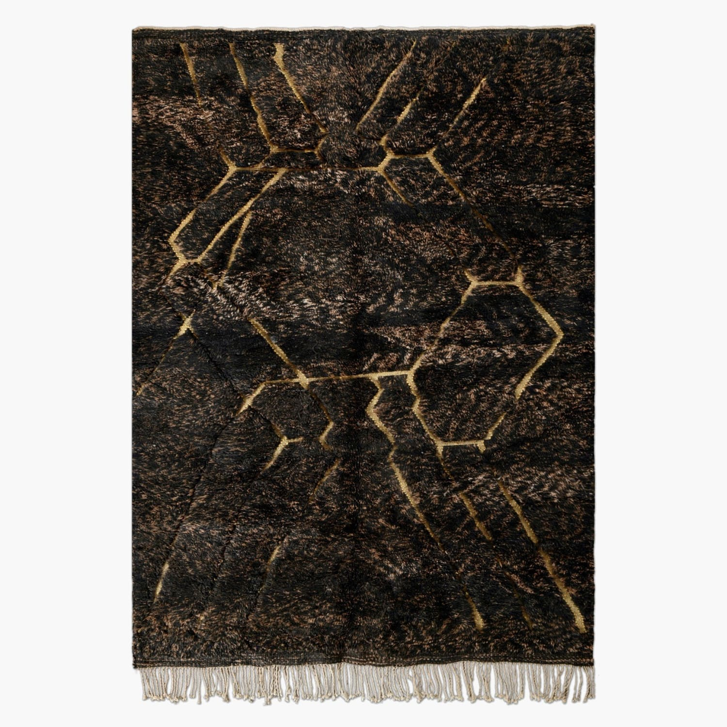 "Gold Rush - Luxury Mrirt Rug ""Exclusive"" - BENISOUK"