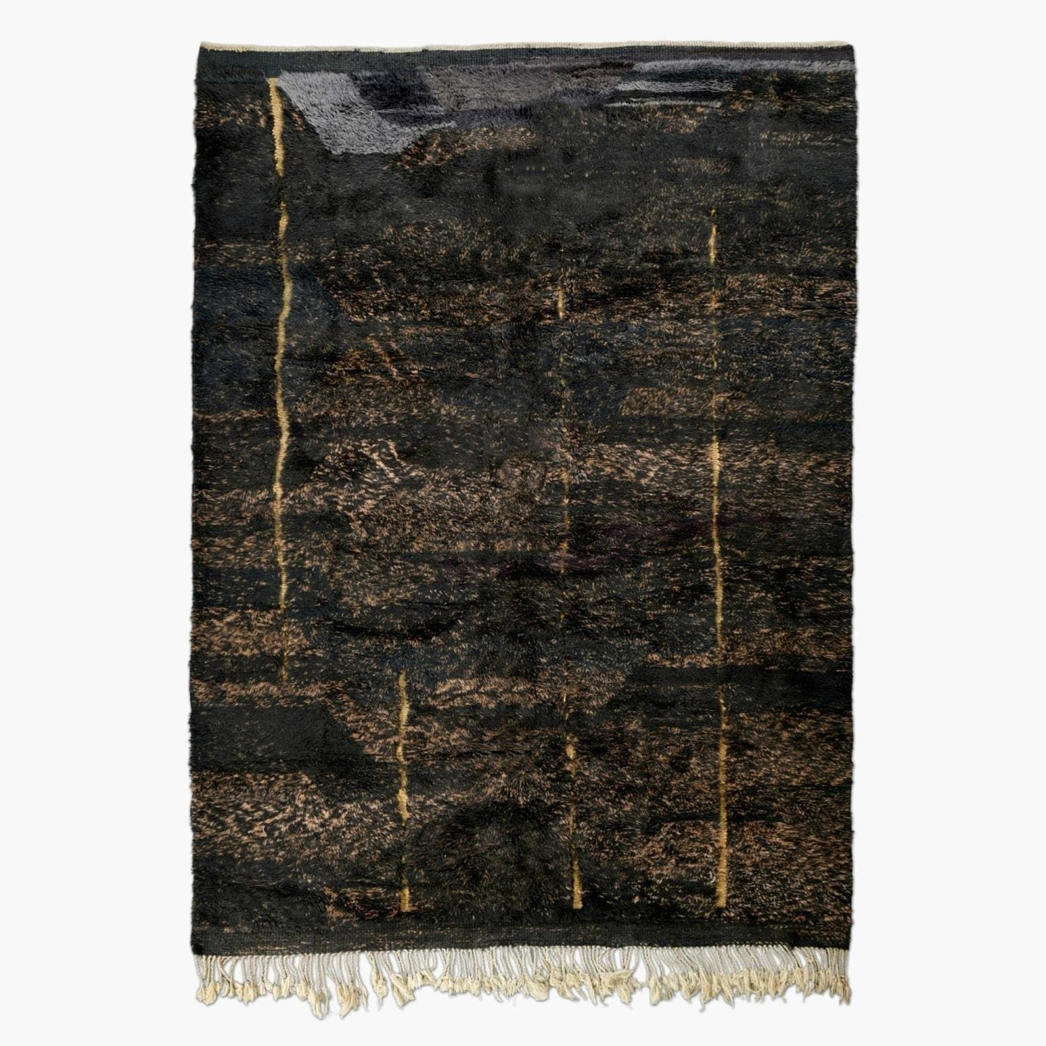 "Gold Vein - Luxury Mrirt Rug ""Exclusive"" - BENISOUK"