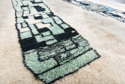 "Higher and higher - Luxury Mrirt Rug ""Exclusive"" - BENISOUK"