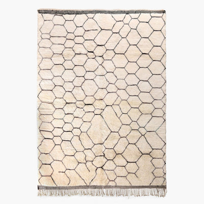 "Honeycomb - Luxury Mrirt Rug ""Exclusive"" - BENISOUK"