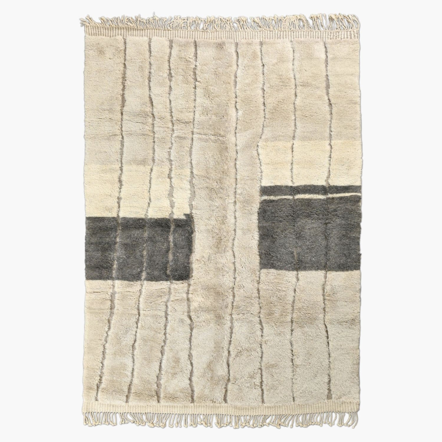 "Light and Shadow - Luxury Mrirt Rug ""Exclusive"" - BENISOUK"