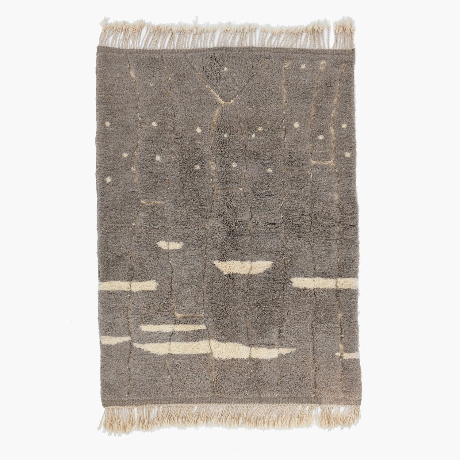 Luxury Mrirt rug 4.9 x 7.8 ft / 150 x 240 cm - BENISOUK