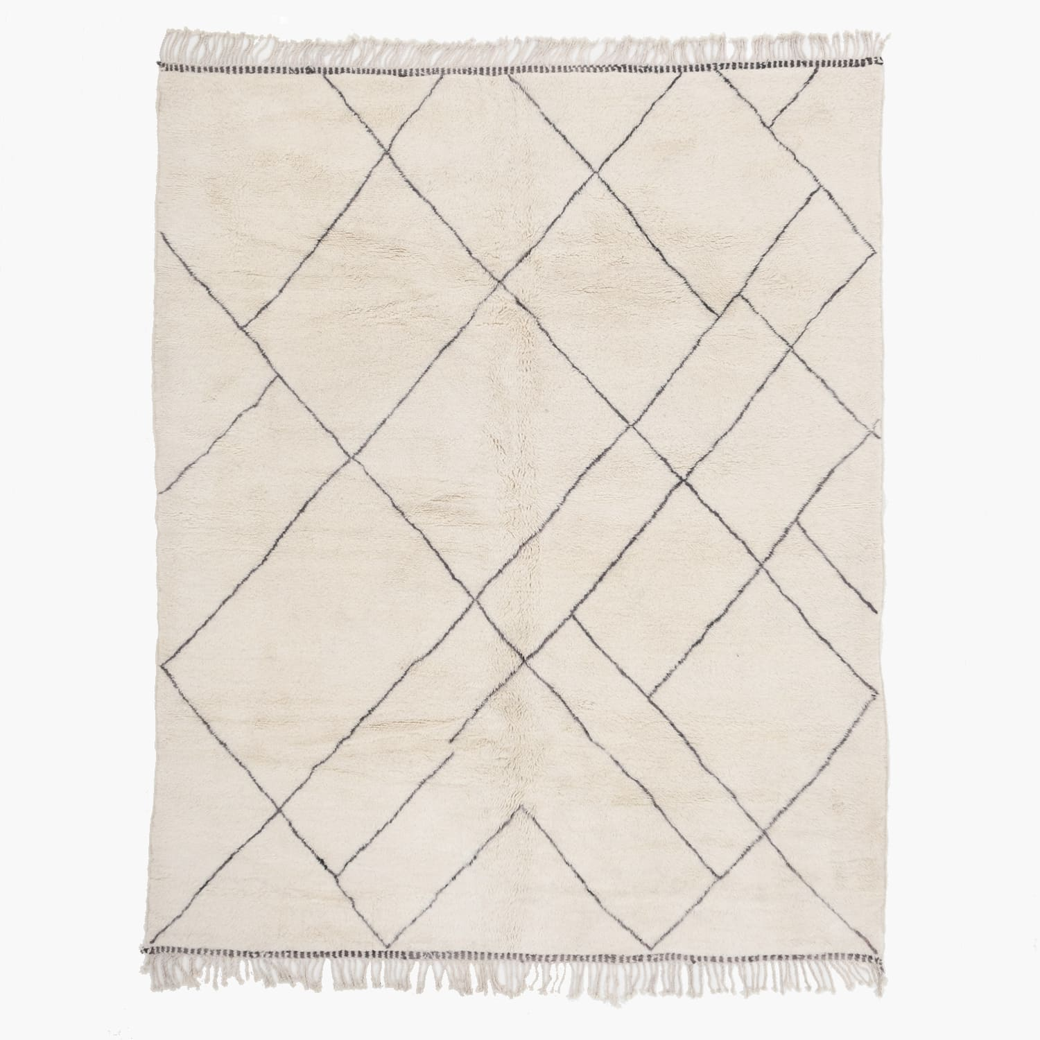 Luxury Mrirt rug 7.9 x 9.8 ft / 240 x 299 cm - BENISOUK