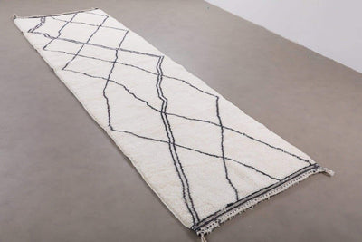 Luxury Mrirt runner rug 2.5 x 7 ft Custom for Iris - BENISOUK