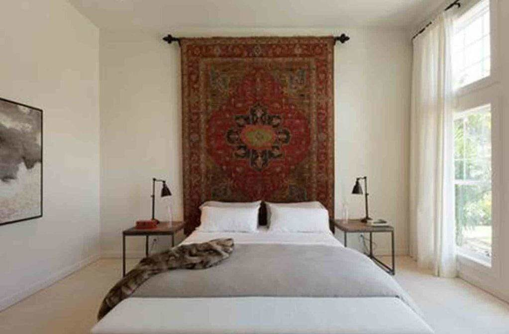 5 Ways to Hang a Moroccan Rug On the Wall