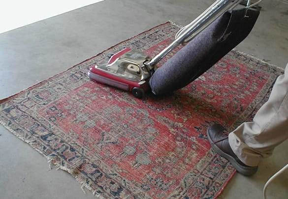 How to vacuum your Moroccan Rug