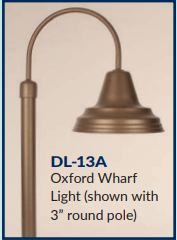 Broward Casting™ Wharf Light - Oxford