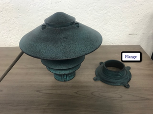Broward Casting™ Flange for the Pagoda Light
