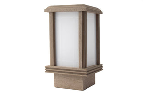 Enduro™ Lights - Garden Terrace - Walnut