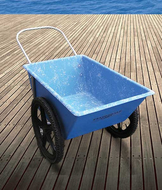 Blue Burro Cart