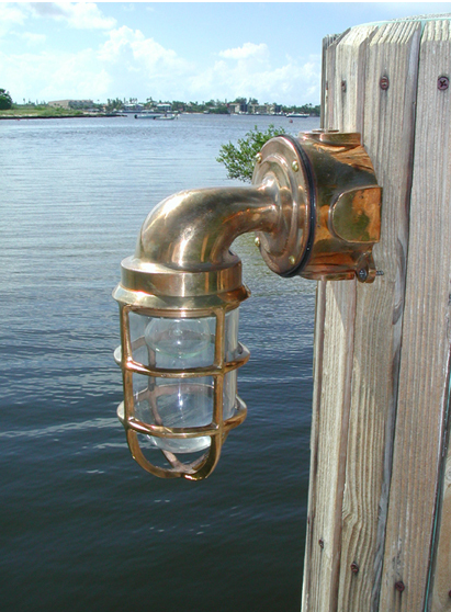 Hydra™ 90 Degree Passageway Light - Bronze