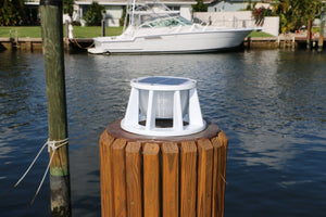 "Lake Lite™ 8"" Piling Mount - Black or White Housing"