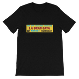 "DIMENSION 20: The Unsleeping City ""La Gran Gata Bodega"" Tee"
