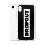 DROPOUT Logo iPhone Case