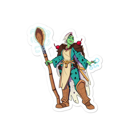 Dimension 20 A Crown of Candy Saccharina Frostwhip Character Sticker