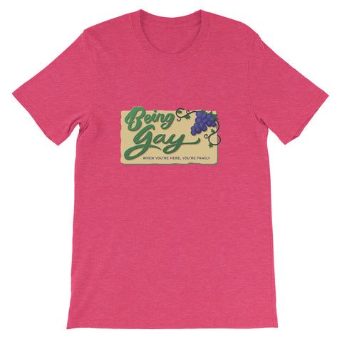 "DIMENSION 20 Live ""Being Gay"" Tee (Limited Time Only!)"