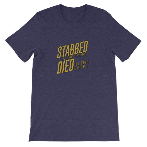 "DRAWTECTIVES ""Stabbed in the Front"" Tee"
