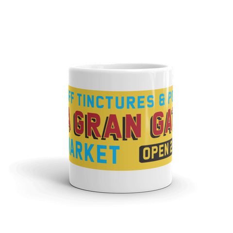 "DIMENSION 20: The Unsleeping City ""La Gran Gata Bodega"" Mug"