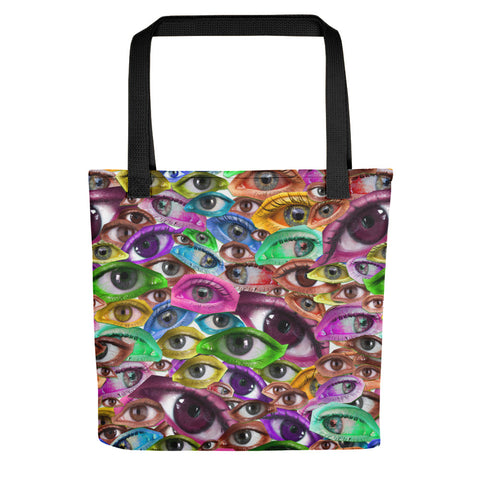 PARANOIA Eyes All Over Tote Bag
