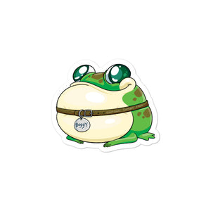 Dimension 20 Fantasy High Boggy the Froggy Character Sticker