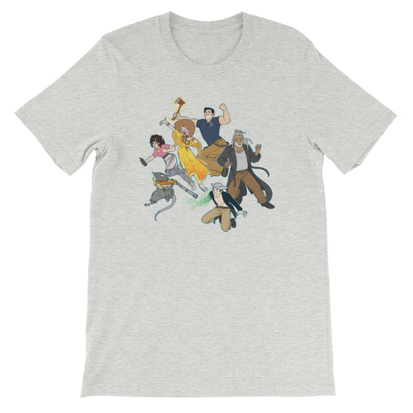 Dimension 20 The Unsleeping City Intrepid Heroes T-Shirt