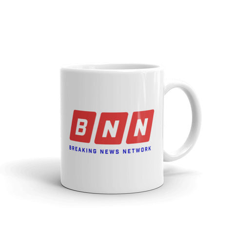 BREAKING NEWS Logo Mug