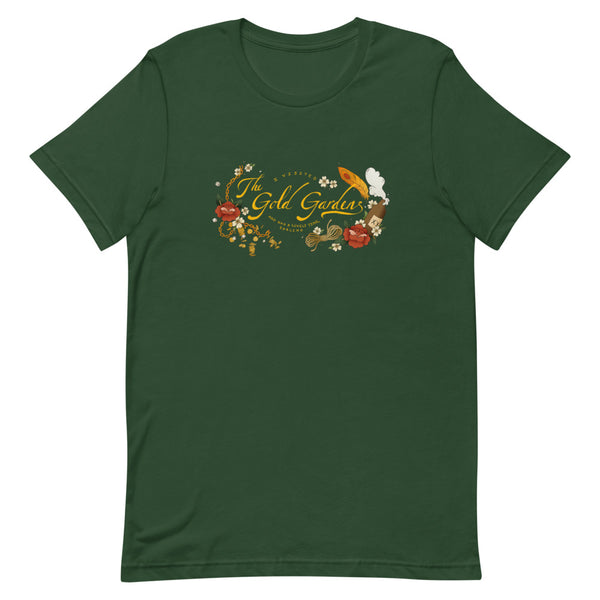 Dimension 20 Pirates of Leviathan Gold Gardens T-Shirt