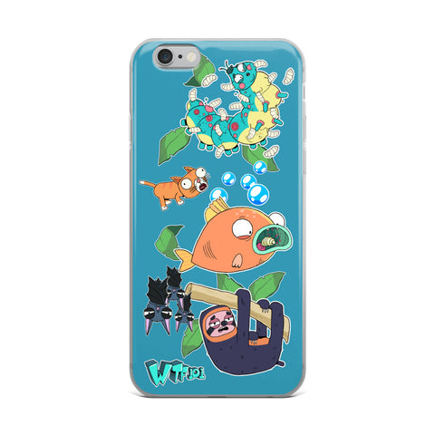 WTF 101 Animal iPhone Case